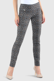 lisette L Celtic Print Slim Ankle Pant - Product Mini Image