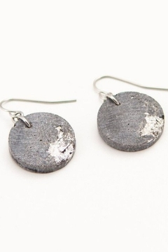 dconstruct Cement Circle Marble Tone Earrings - Alternate List Image