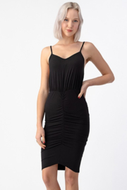 Hearts & Hips Center Ruched Cami Dress - Product Mini Image
