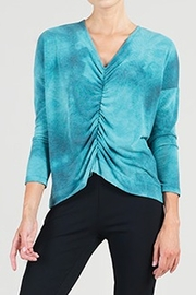 Clara Sunwoo Center Ruched Top - Front cropped