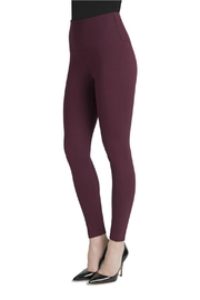 Lysse Center Seam Ponte Legging - Front full body