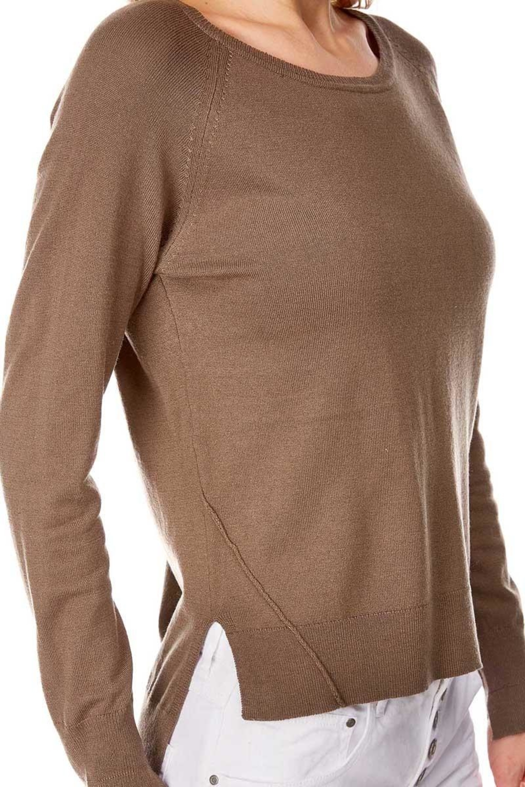 Best Mountain Center Seam Sweater - Front Full Image