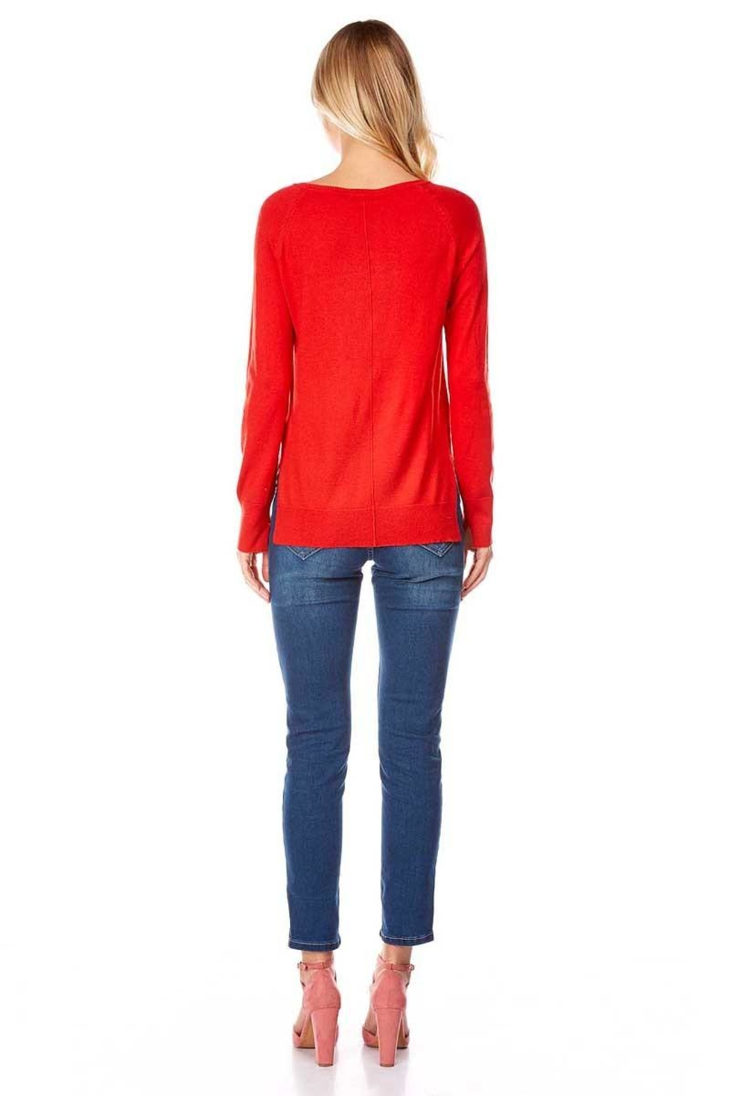 Best Mountain Center Seam Sweater - Side Cropped Image