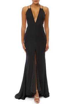 luxxel Center Split Maxi Dress - Product List Image