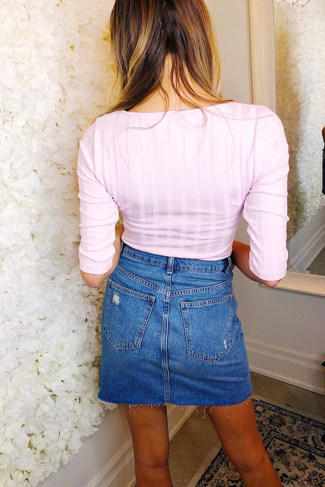 Free People Central Park Cardi - Back Cropped Image
