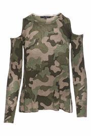 Central Park West Camo Cold Shoulder - Product Mini Image