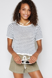 Sadie & Sage Centro Stripe Knit Top - Product Mini Image