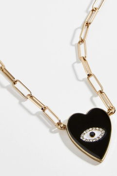 Shoptiques Product: Ceramic Evil Eye Necklace
