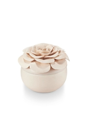 Illume  Ceramic Flower Candle - Product Mini Image