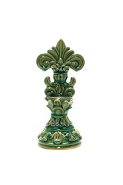 Giftcraft Inc.  Ceramic Green Finial - Product Mini Image
