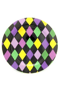 Ceranima Mardi-Gras Charger Plate - Product List Image