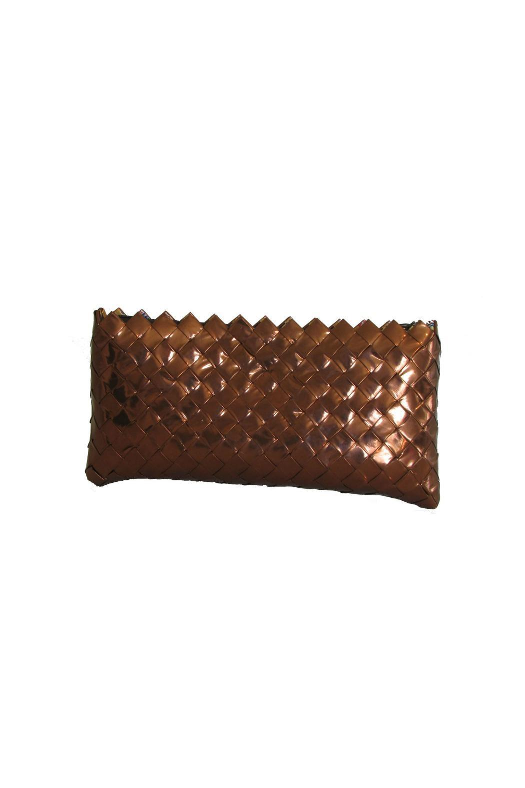 CeReSo Recycled Candywrapper Clutch - Front Full Image