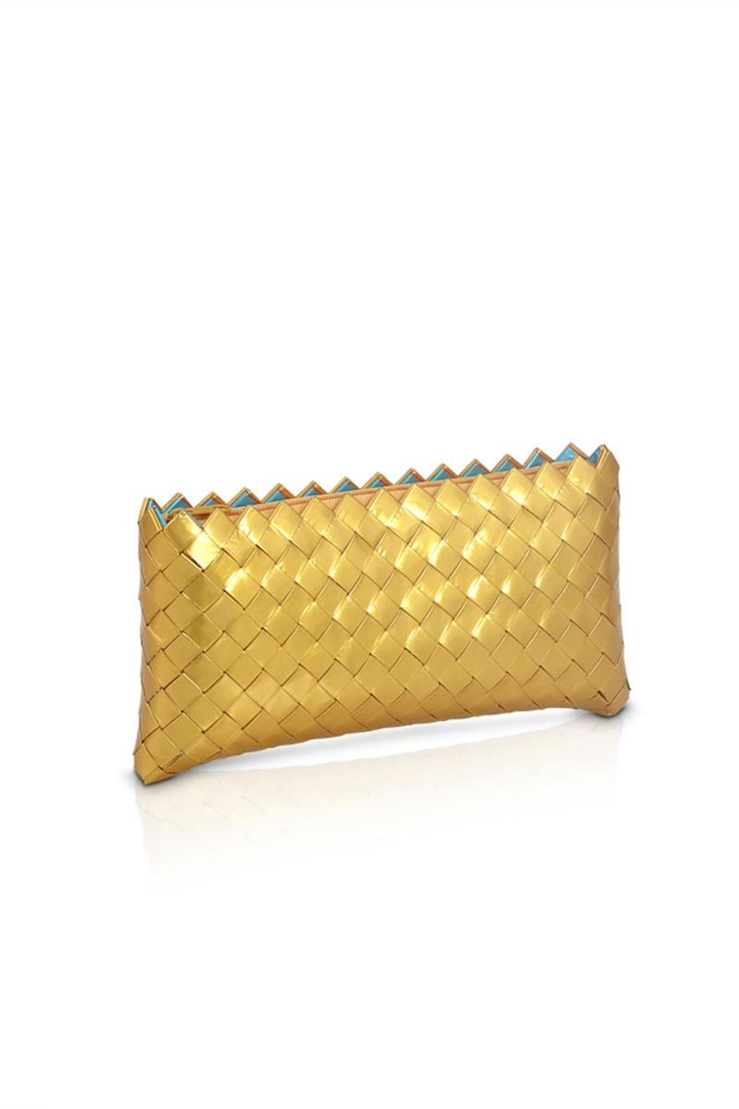 CeReSo Recycled Candywrapper Clutch - Main Image