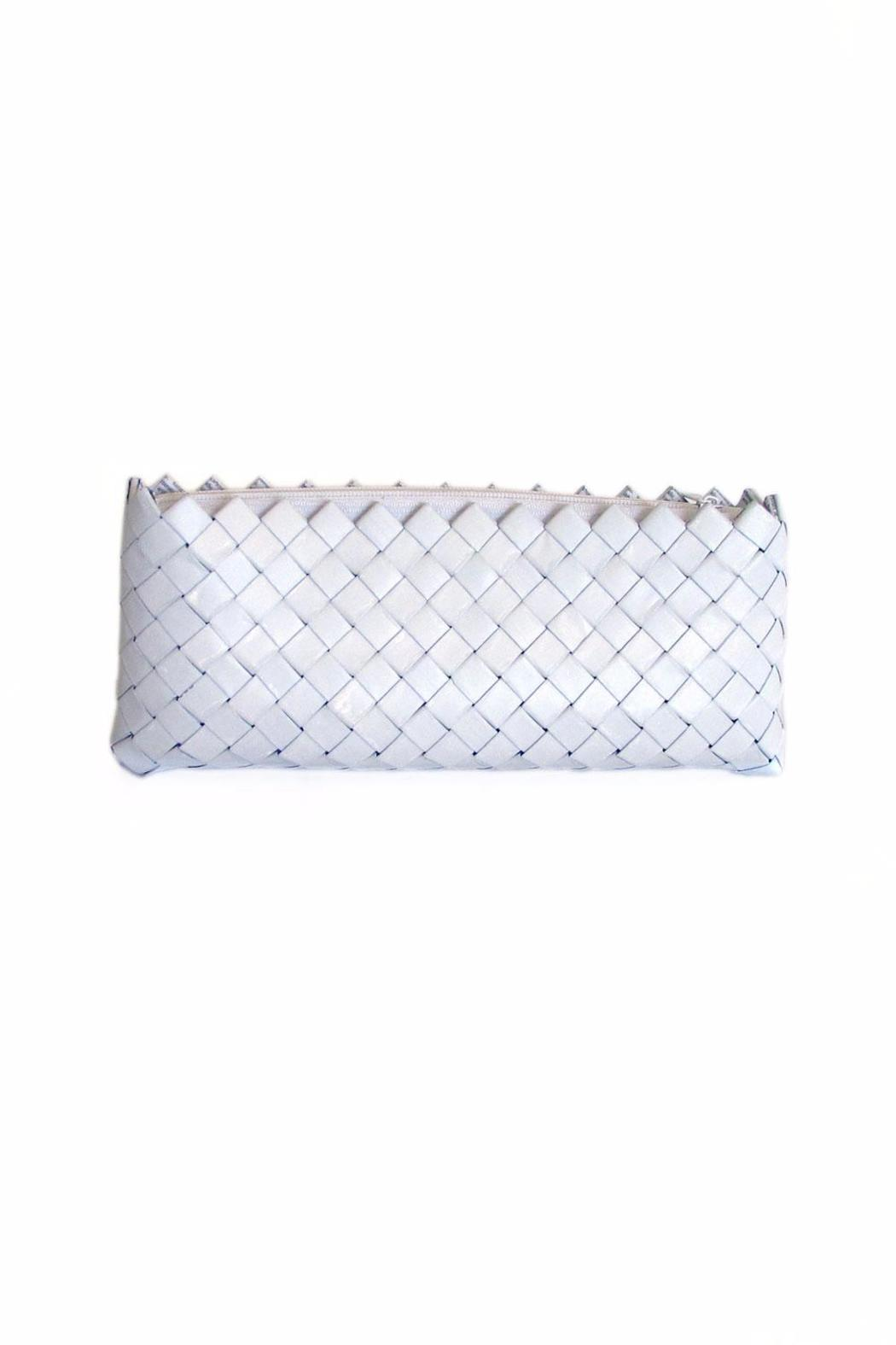 CeReSo Recycled Candywrapper Clutch - Front Cropped Image