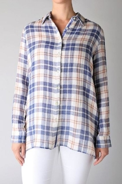Johnny Was Ceretti Plaid Shirt - Product List Image