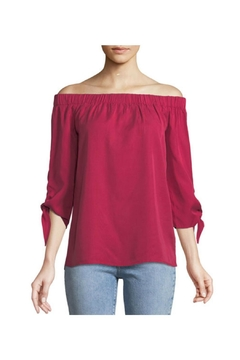 Shoptiques Product: Cerise Off Shoulder