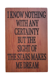 Ganz Certainty Natural Thoughts Plaque - Product Mini Image
