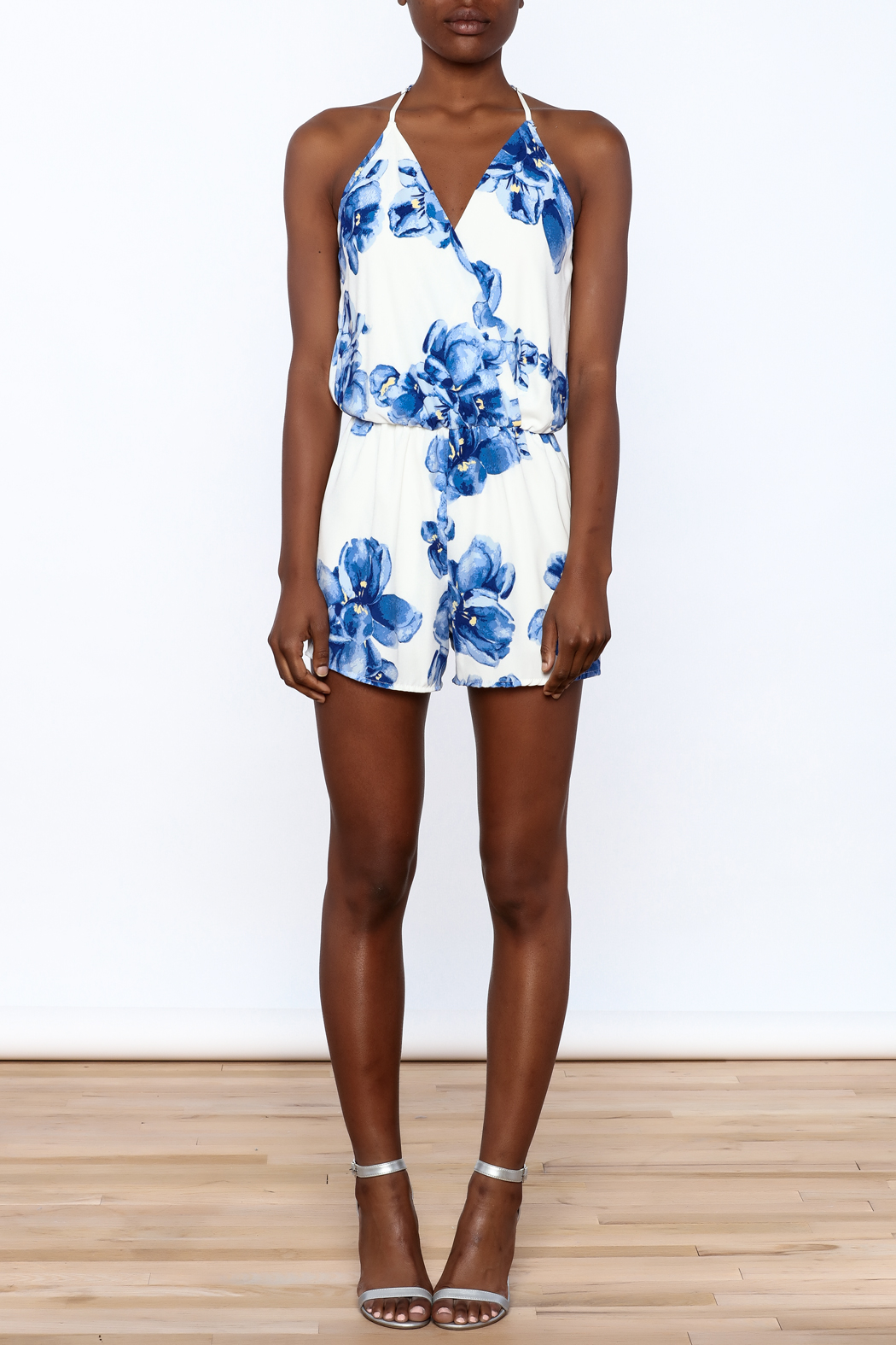 Ces Femme Blue Floral Romper From New York City By Local Color NYC U2014 Shoptiques