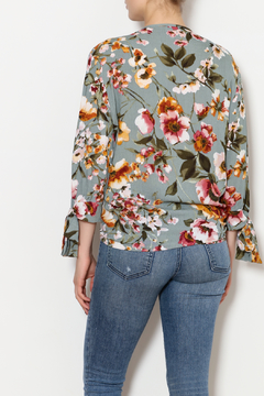 Ces Femme Fall Floral Shirt - Alternate List Image