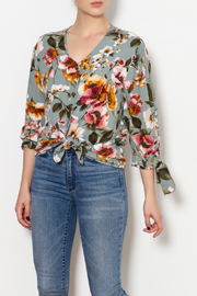 Ces Femme Fall Floral Shirt - Product Mini Image