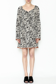 Ces Femme Floral Flare Dress - Front full body