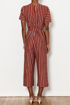 Ces Femme Striped Wrap Jumpsuit - Alternate List Image