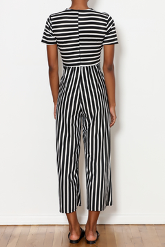 Ces Femme Tied Stripe Jumpsuit - Alternate List Image