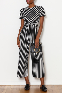Ces Femme Tied Stripe Jumpsuit - Product List Image