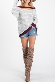 Ces Femme Bonfire Ribbed Sweatshirt - Product Mini Image