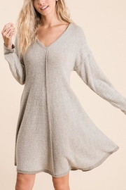 Ces Femme Brushed-Knit Swing Dress - Product Mini Image