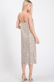 Ces Femme Champagne Sequin Dress - Other