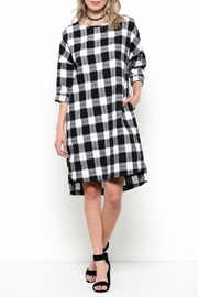 Ces Femme Check Dress - Front cropped