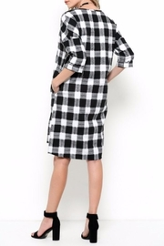 Ces Femme Check Dress - Side cropped