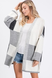 Ces Femme Colorblock Knit Cardigan - Product Mini Image