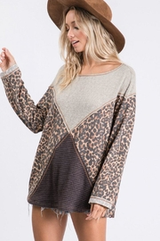 Ces Femme Mixed Matched Tunic - Side cropped