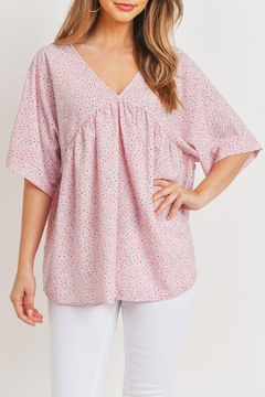 Ces Femme Pink Baby-Doll Top - Product List Image
