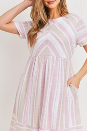 Ces Femme Pink-Taupe Midi Dress - Other