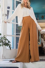 Ces Femme Ribbed Palazzo Pants - Other