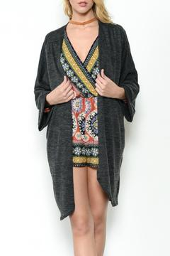 Ces Femme Solid Knit Cardigan - Product List Image