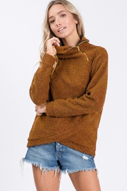 Ces Femme Teddy Turtleneck Pullover - Product Mini Image