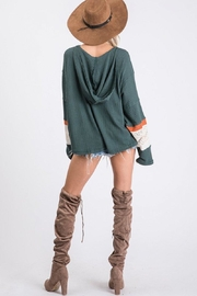 Ces Femme Waffle Hoodie Top - Other