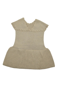 cesar blanco Beige Knitted Dress - Alternate List Image