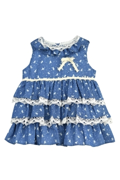 cesar blanco Blue Bird Dress - Product List Image