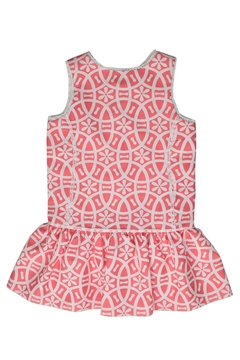 cesar blanco Coral & White Dress - Alternate List Image