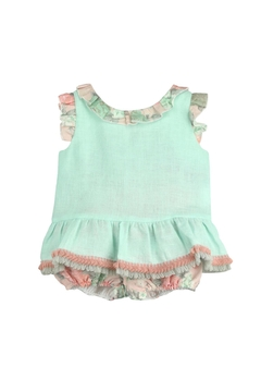 cesar blanco Green & Pink Outfit - Product List Image