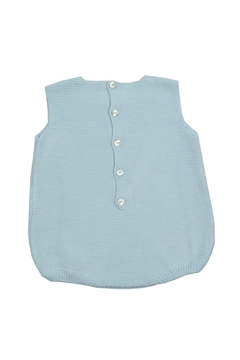 cesar blanco Light Blue Onesie - Alternate List Image