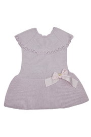 cesar blanco Lilac Knitted Dress - Front cropped