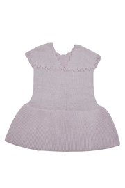 cesar blanco Lilac Knitted Dress - Front full body