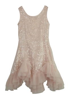 cesar blanco Pink Sequin Dress - Product List Image