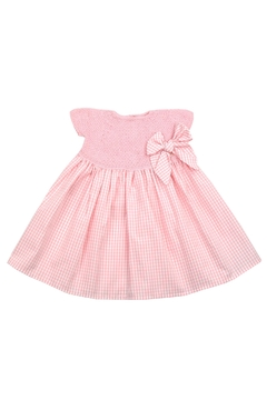Shoptiques Product: Pink & White Dress